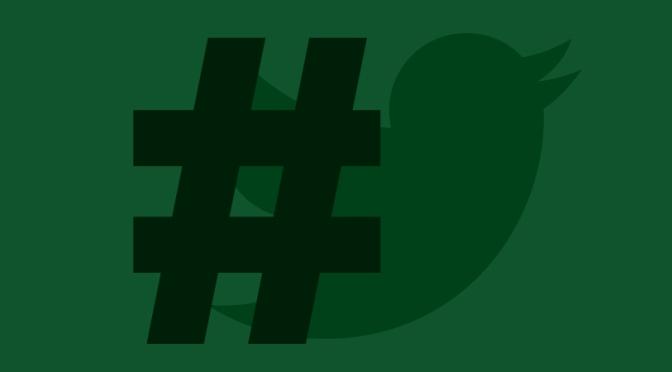 Del hashtag como nueva forma de subrayar