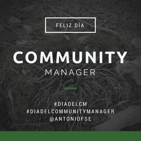 Feliz día del Community Manager