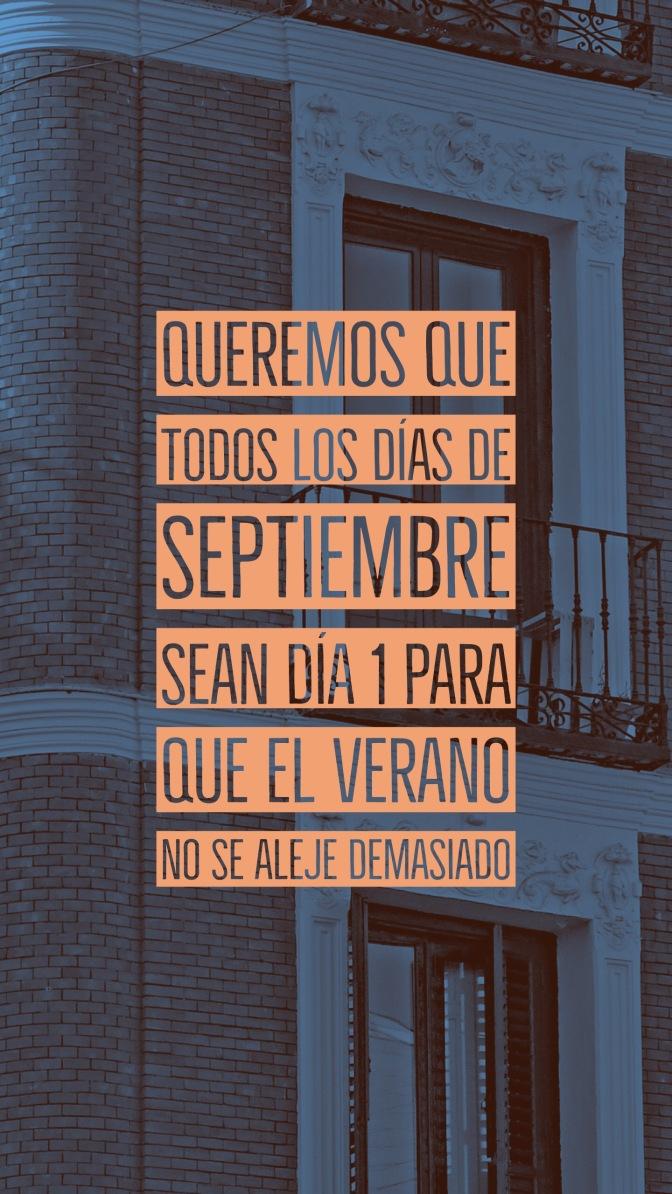 Días 1 de septiembre