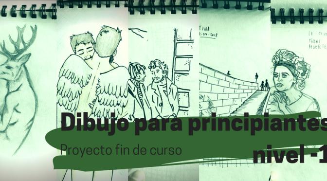 """Proyecto fin de curso """"Dibujo para principiantes nivel -1"""""""